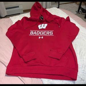 Wisconsin Badgers Mens Hoodie